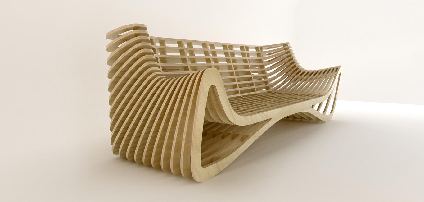 Fresa cnc rossini for New model chair design